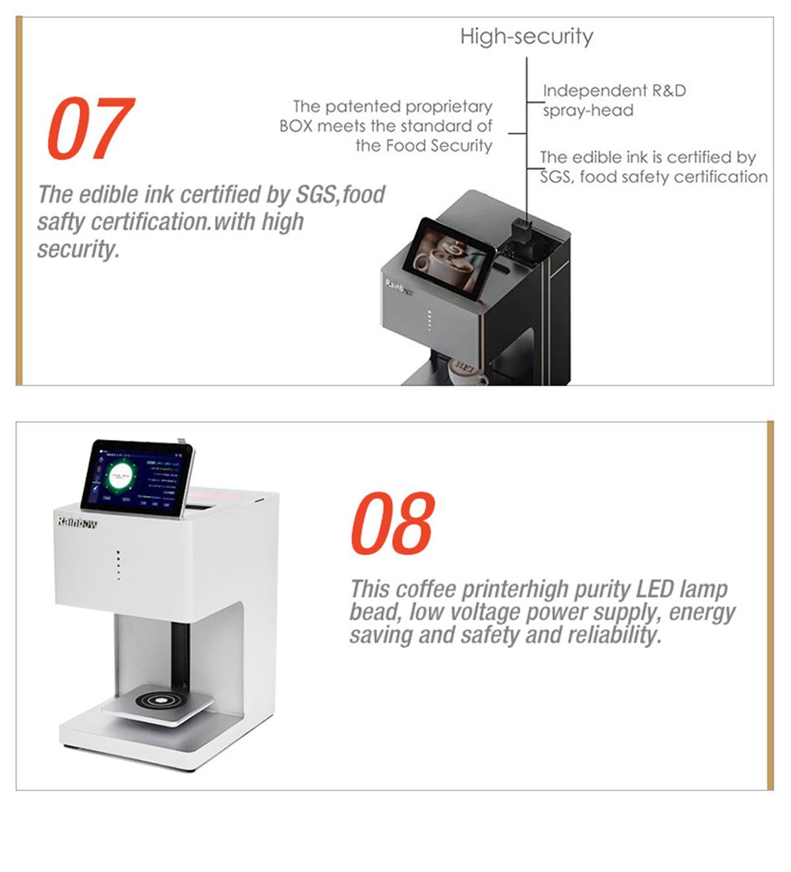 RB-FT5 Coffee Food Printer